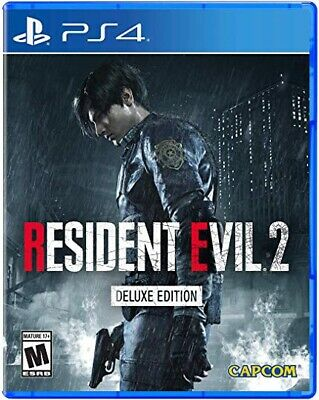 Resident Evil 2 Remake - Deluxe Edition, PlayStation 4, PS4, 2019 No DLC