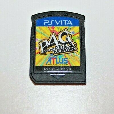 Persona 4: Golden [M]  Sony Playstation PS Vita Game Cartridge Only!!!