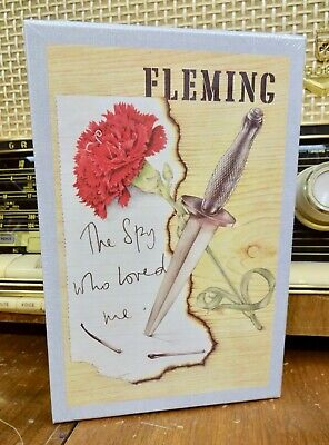 NEW SEALED James Bond First Ed. Library SPY WHO LOVED ME Ian Fleming Facsimile