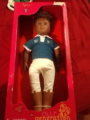 NEW Our Generation Regular Tyler Boy Riding Doll