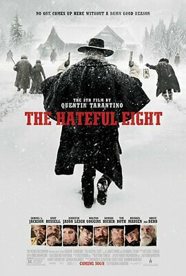 The Hateful Eight (BluRay - DVD - Digital) Quentin Tarantino Samuel L Jackson