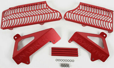 Unabiker Radiator Guards Red For Suzuki RMZ450 08-14 SRMZ0809-R