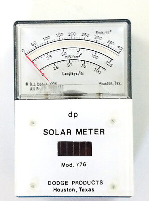 Solar Meter Mod. 776 Dodge Products with Leather Case (A)
