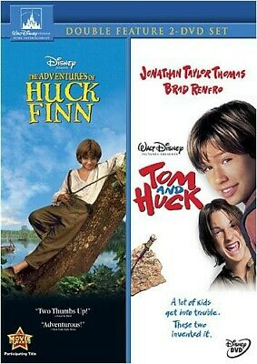 Adventures of Huck Finn/Tom and Huck [2 Discs] (DVD Used Very Good)