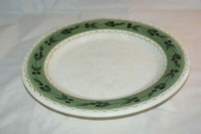 "ONEIDA /""Oliveto/"" 11/"" Round Dinner Plate Hand-Painted"