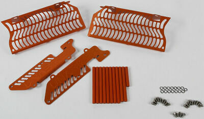 Unabiker Radiator Guards Orange For KTM 144-300 XC/SX 2 Stroke 08-15 13KTM2STK-O