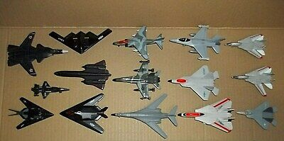 LOT OF 31 Diecast Airplanes Military Jets USAF Helicopter Nasa