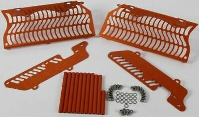 Unabiker Radiator Guards Orange For KTM 200-300 XCW 2 Stroke 08-16 14KTMXCW-O