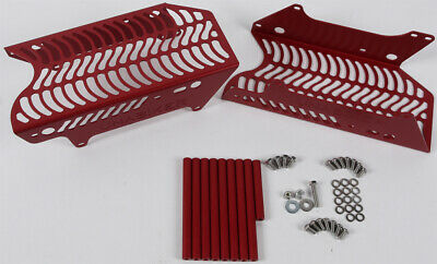 Unabiker Radiator Guards Red For Honda CRF 450 R 2017-2018 HF450R8-R