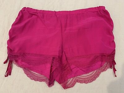 Lover Silk Pink Shorts - Size 6