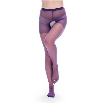 Women's Hot See Through Crotchless Reinforced Pantyhose Tights