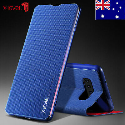 For Samsung Note 10+ Plus 5G S10 S10+ Plus Thin Flip Leather Wallet Case Cover