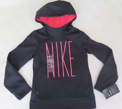 Nike Therma Girl's Pullover Training Black Hoodie - SMALL - NWT - MSRP$40