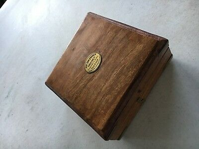 Nautical Antique Brass Sundial Compass The New York Times Collectibles w/box