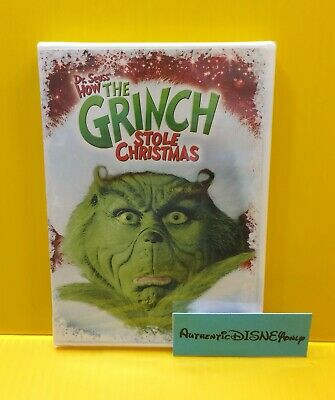 Dr. Seuss' HOW THE GRINCH STOLE CHRISTMAS DVD (Jim Carrey) NEW SEALED AUTHENTIC