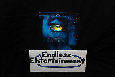 Avatar Blu-ray DVD Combo Pack With Slipcover! James Cameron Masterpiece!