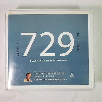729 Through the Bible with Skip Heitzig Genesis to Revelation Teachings in MP3
