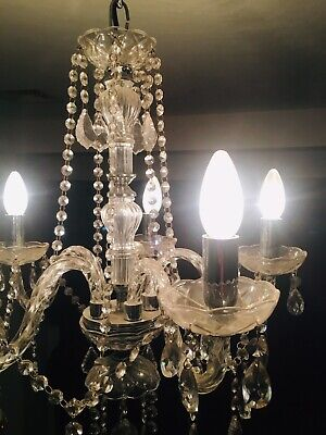 Maria Theresa Chandelier with crystals