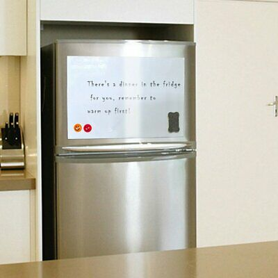 A3/A4 Reminder Magnetic Fridge Whiteboard Home Office Memo Message Board GA