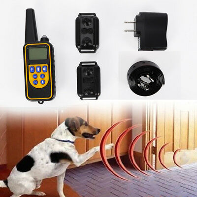 Pet Dog Trainer Dog Training Collar Rechargeable Shock Collar TPU Receiver 0.5kg
