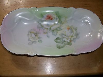 VINTAGE or Antique GERMANY PORCELAIN CELERY TRAY RELISH DISH