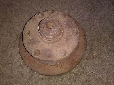 Vintage Antique Wooden Wagon Wheel Axle Only