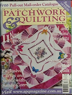 Patchwork & Quilting Magazine Vol.11 No.3, 11 New Projects, Quilt Sewing