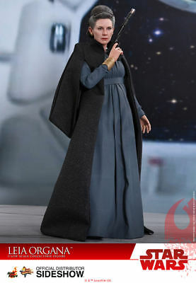 "Hot Toys Star Wars: The Last Jedi LEIA ORGANA 12"" Action Figure 1/6 Scale MMS459"