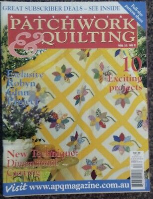 Australian Patchwork & Quilting Magazine Vol.11 No.2, 10Exciting Projects