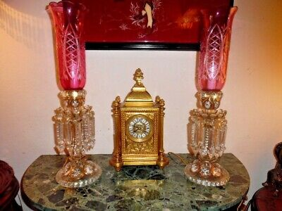 Genuine Antique French Mantel Clock