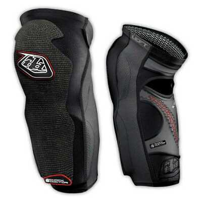 New Troy Lee Designs 5450 Long Adult Lycra Kneeguards, Black, Small/SM