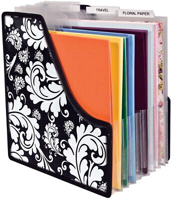 """Storage Studios Projections Expandable Paper Holder-13.5""""X14.25""""X1"""", Expands To"""
