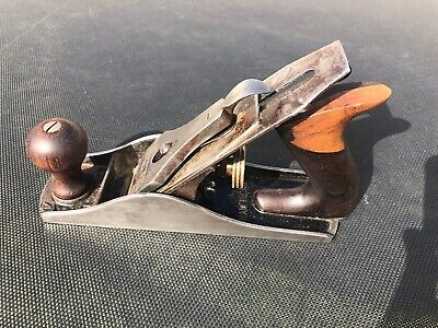 Vintage Stanley Bailey No.4 Hand plane. Sweetheart, RoseWood, made in Canada