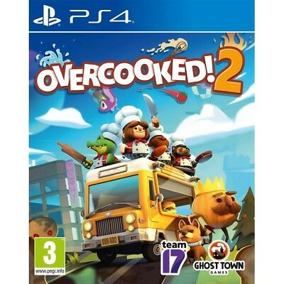 Overcooked! 2 PS4 PlayStation 4 Game PAL Version New Sealed AU Seller In Stock