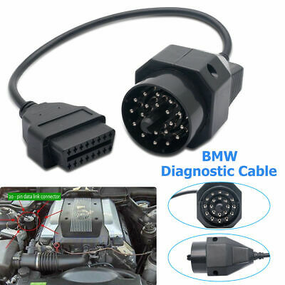 Adaptateur connecteur diagnostic CABLE OBD2 20 broches à 16 pin Interface BMW