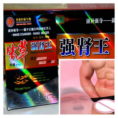 Natural Herbal ENHANCER Conditioning Male Sexual function Sex Pill 10+10/1Box m5