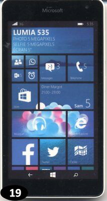 Telephone FACTICE - Microsoft Lumia 535 |19|