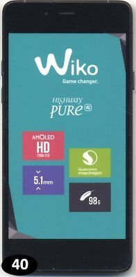 Telephone FACTICE - Wiko Highway Pure |40|