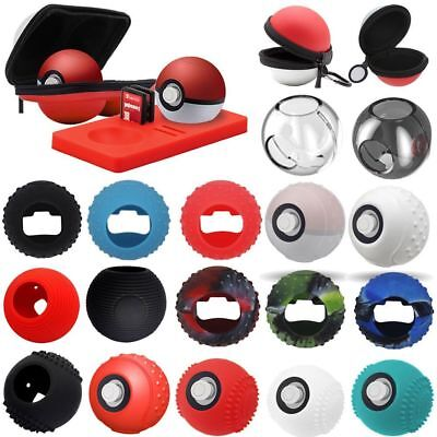 Carrying Case Cover For Nintendo Switch Poke Ball Plus Controller Eevee Game Bag