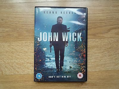 DVD: John Wick (2015) Keanu Reeves, Michael Nyqvist, Willem Dafoe Movie Action