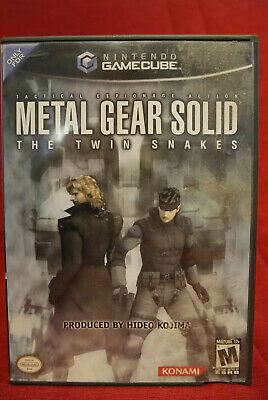Nintendo-Gamecube-Metal-Gear-Solid-Twin-Snakes-Complet- NTSC-USA