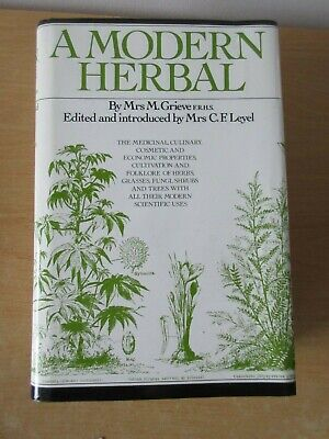 A Modern Herbal Book by M Grieve - Tiger Publishing - 912 Pages