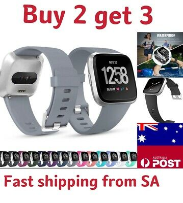 Replacement Wristband Watch Strap Bracelet For Fitbit Versa Silicone Band Sport