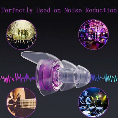 Soft Silicone Noise Cancelling Ear Plugs for Sleeping Concert Hear safe Earplugs