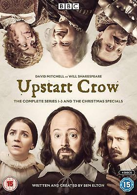 Upstart Crow Series  Seasons 1 2 3 + Christmas Specials DVD New Sealed  In Stock