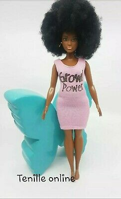 New curvy Barbie clothes complete outfit dress casual fashionista short
