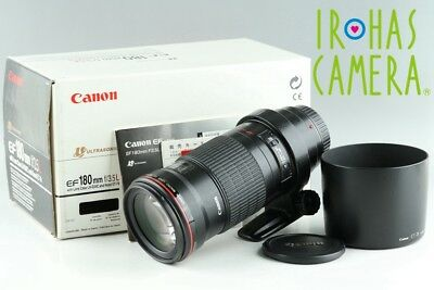 Canon EF Macro 180mm F/3.5 L USM Lens With Box #18457