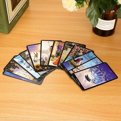 English Edition Tarot Deck Witch Tarot Cards Amazing Set Fortune Telling Cards