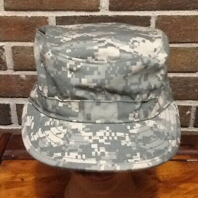 c2c58887376 US Army Digital Camouflage ACU Military Issue GI Patrol Cap PC Size 7 1 4