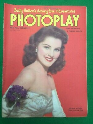 Photoplay Magazine The Film Monthly October 1952